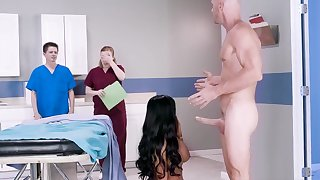 Milf attents the doctors for something else than a check up
