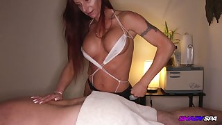 MILF Talky Blowjob MASSAGE Shady Watering-place