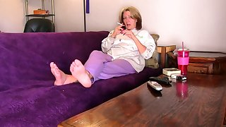 Hottest homemade Foot Fetish adult clip