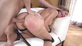 MILF dominated in full and reproachful anal tryout