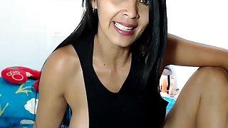Venezuelan Dam Keirlax Rouxxx (41) Shake Splutter Backside With Cream Thong Down